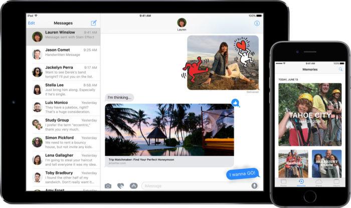 Apple vient de libérer iOS 10 bêta publique