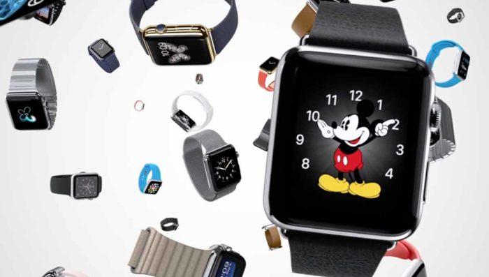 Apple Watch en chute libre ...