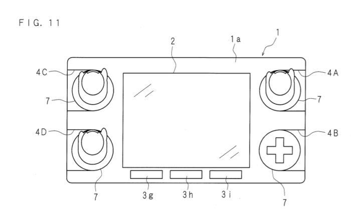 Ce brevet présente une manette modulaire