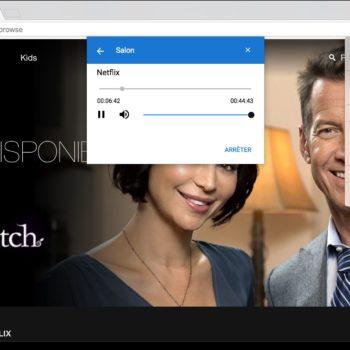 Google Cast sur Chrome