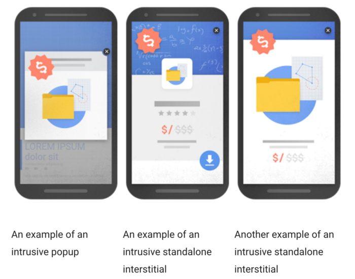 Voici comment Google cible la mauvaise publicité sur mobile