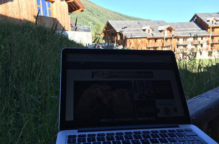 Le BlogNT est à la montagne