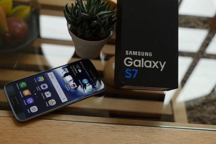 Le Galaxy S7 est juste parfait