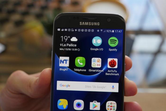Samsung Galaxy S7 : l'écran est juste sublime