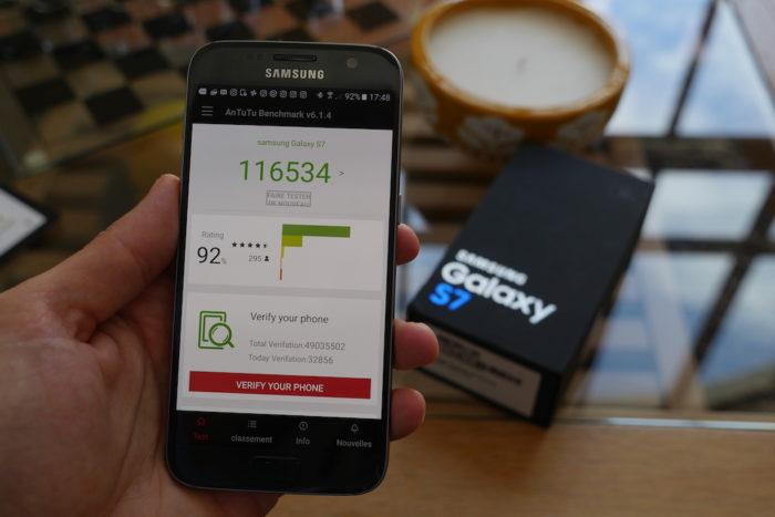 Samsung Galaxy S7 : il est très puissant
