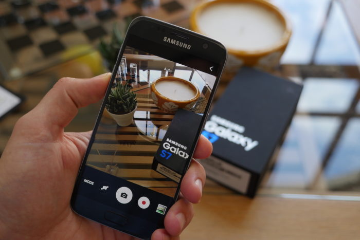 Samsung Galaxy S7 : le capteur photo est excellent
