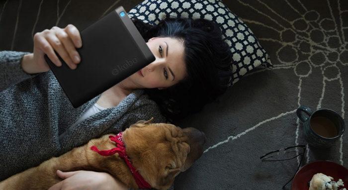 La Kobo Aura ONE dispose d'une technologie idéale pour lire la nuit