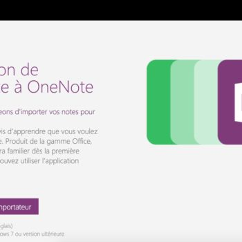 Transition de Evernote à OneNote sur Mac