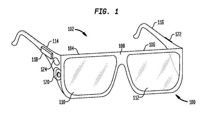Allons-nous voir des Google Glass avec un panneau tactile sur le côté ?