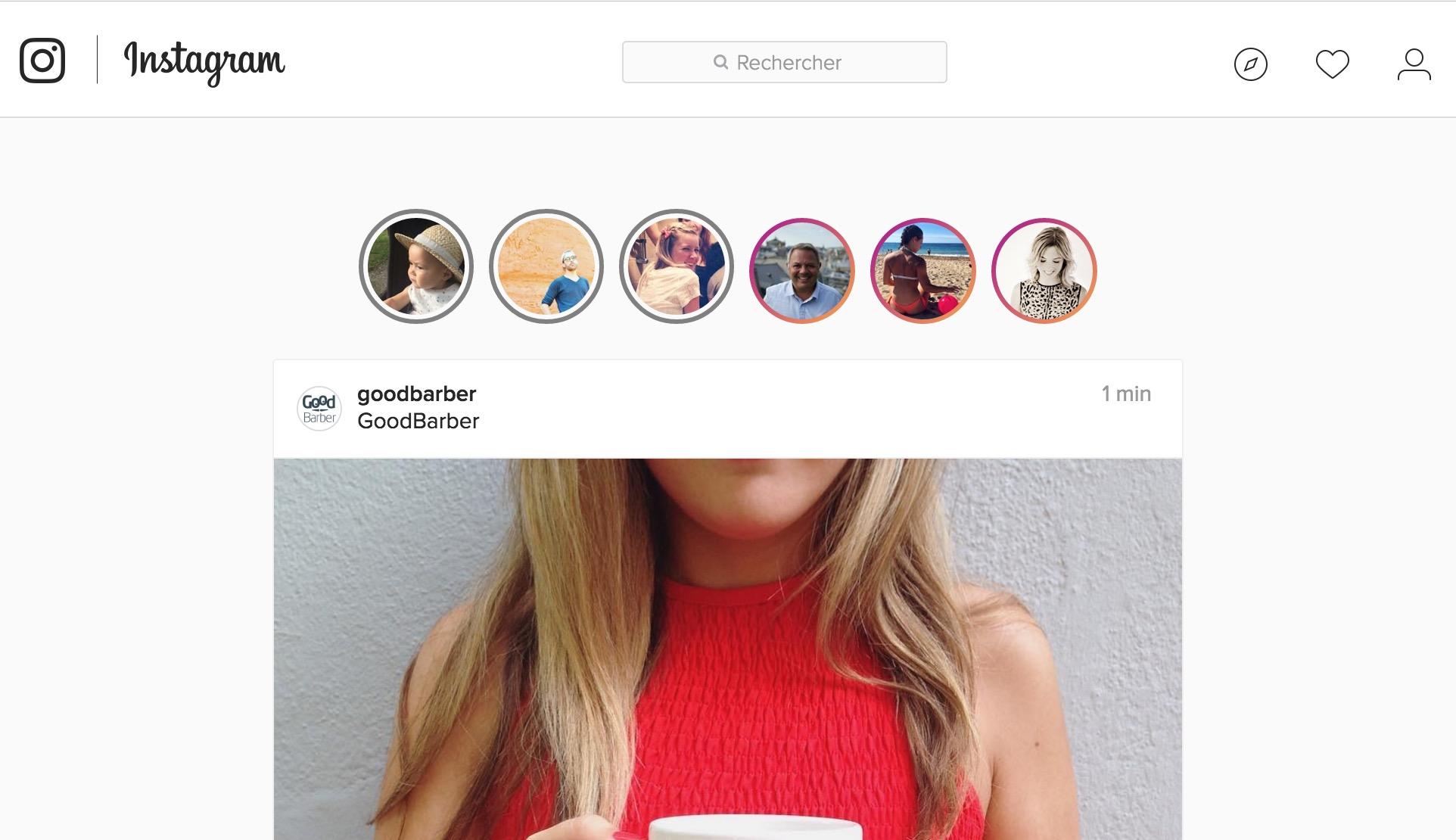 Aujourd'hui je vais très simplement vous montrer comment ajouter un onglet ...  que vous attendez, bien sûr, avec impatience : l'ajout d'un onglet Instagram.