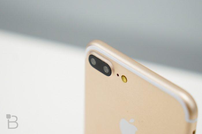 iPhone 7 Plus : prototype avec double capteurs
