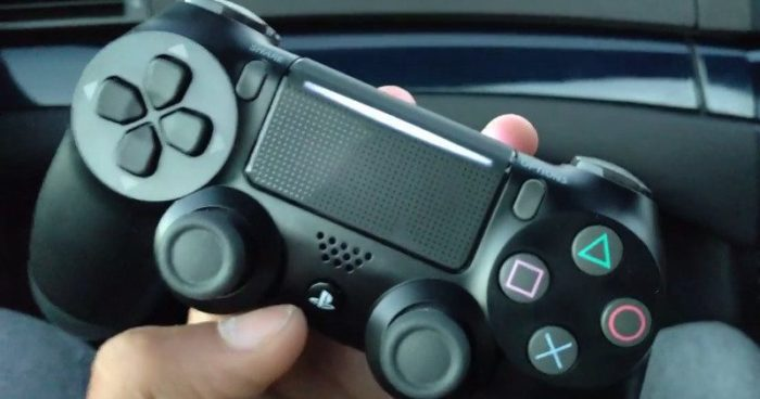 Serait-ce la Dual Shock 4 de la PS4 Slim ?