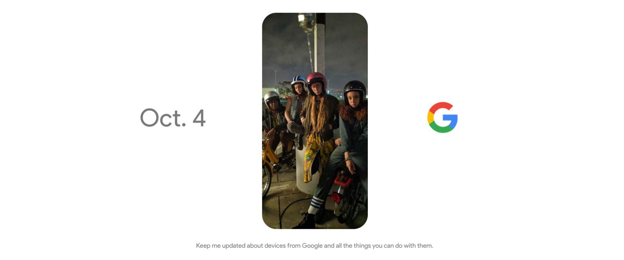 Google va nous tenir en haleine le 4 octobre à 18 heures