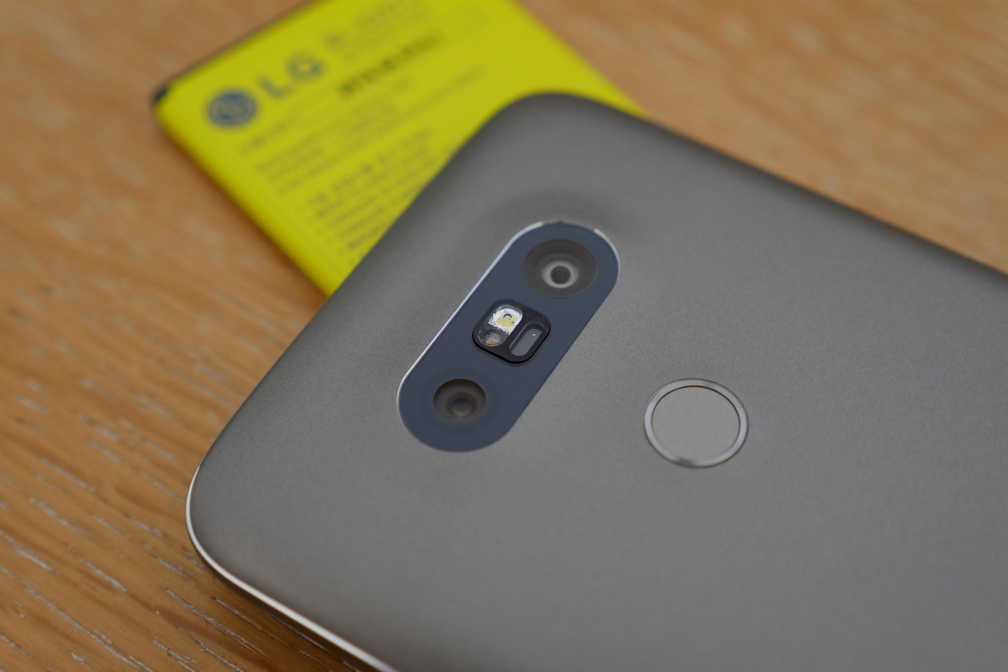 LG G5 : double capteur