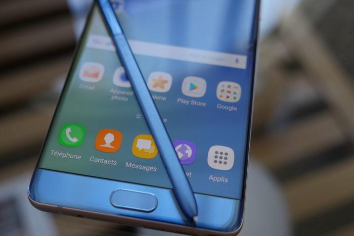 Galaxy Note 7 : TouchWiz fait peau neuve