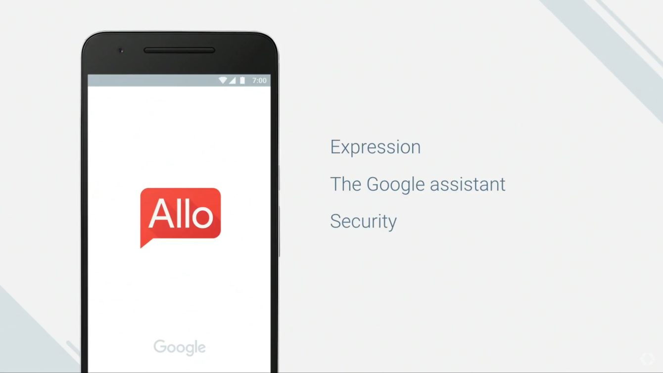 L'application de messagerie alimentée par l'IA disponible — Google Allo