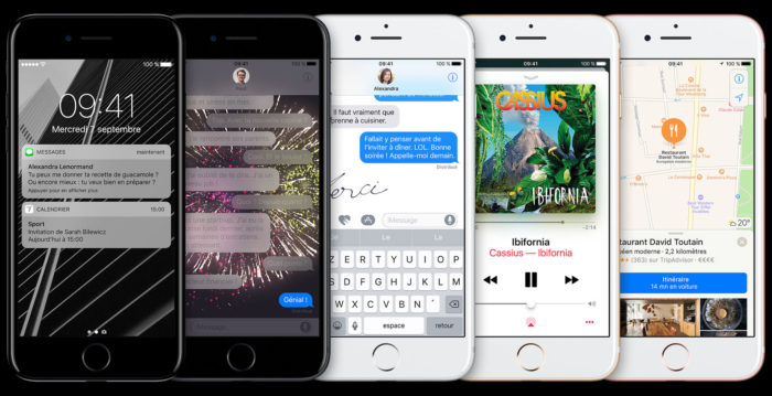 iOS 10 arrive