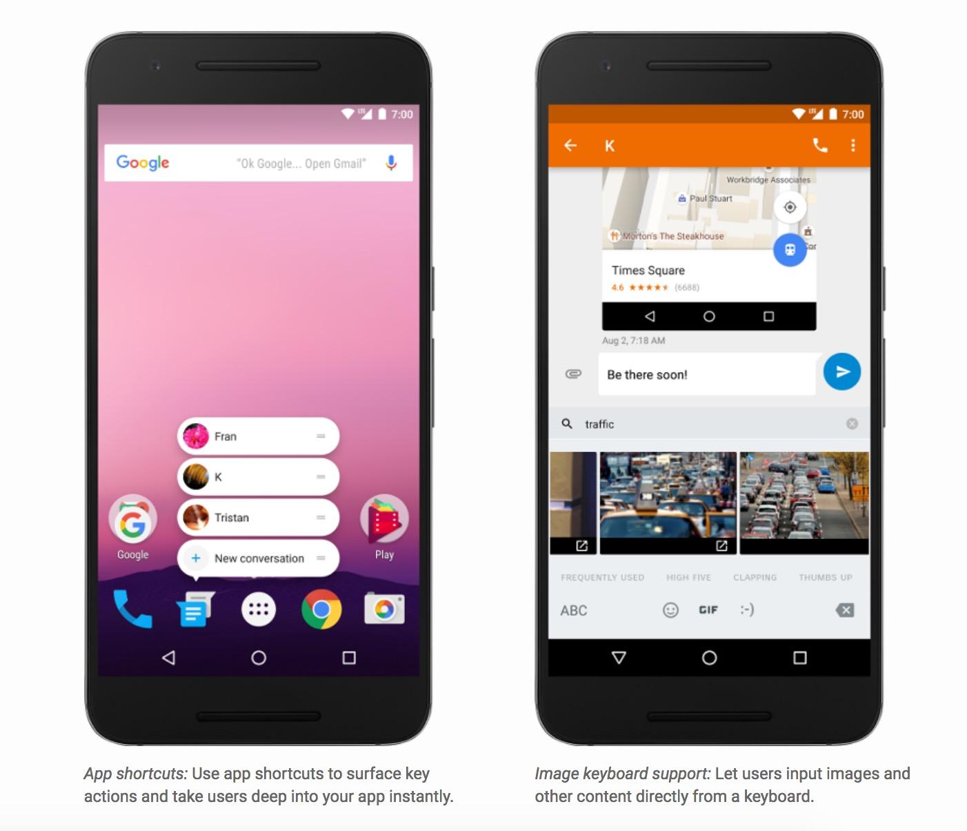 Android 7.1 va arriver sur les Nexus, et même sur le Nexus 6