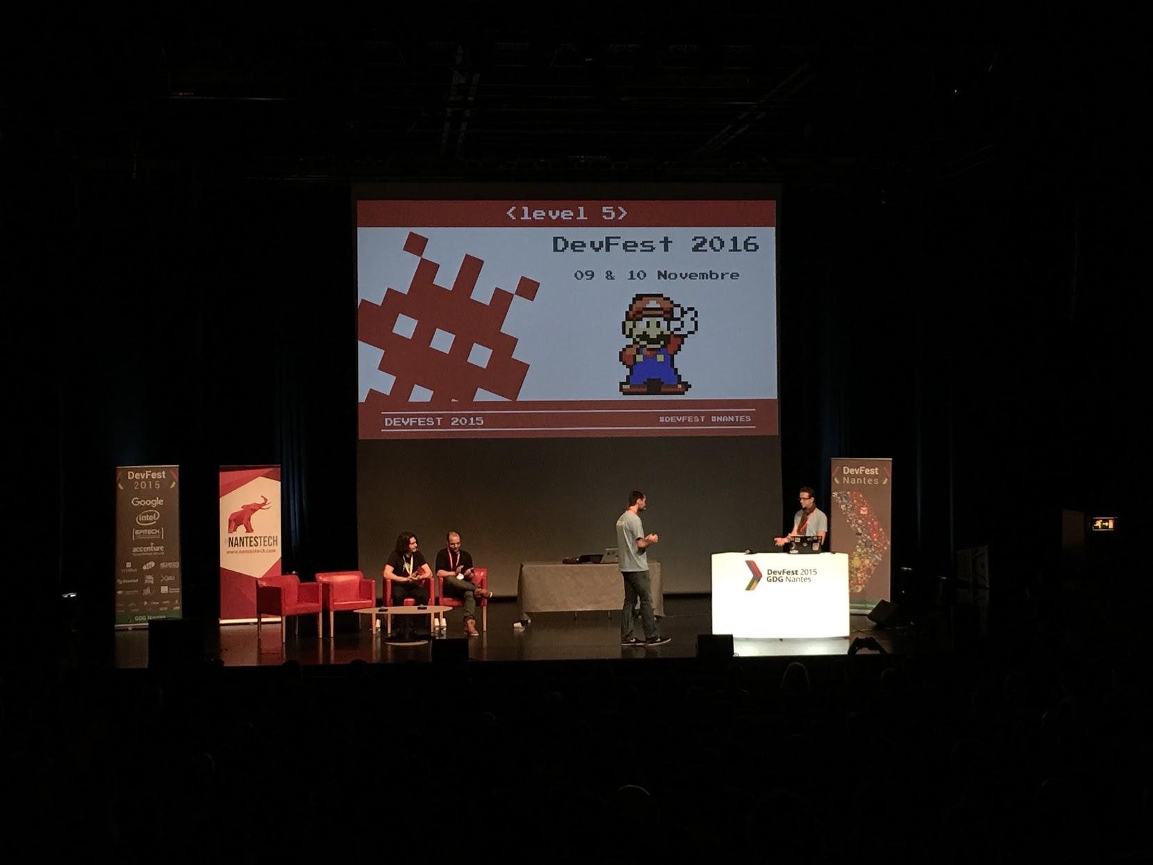 Le DevFest de Nantes revient pour 2 jours