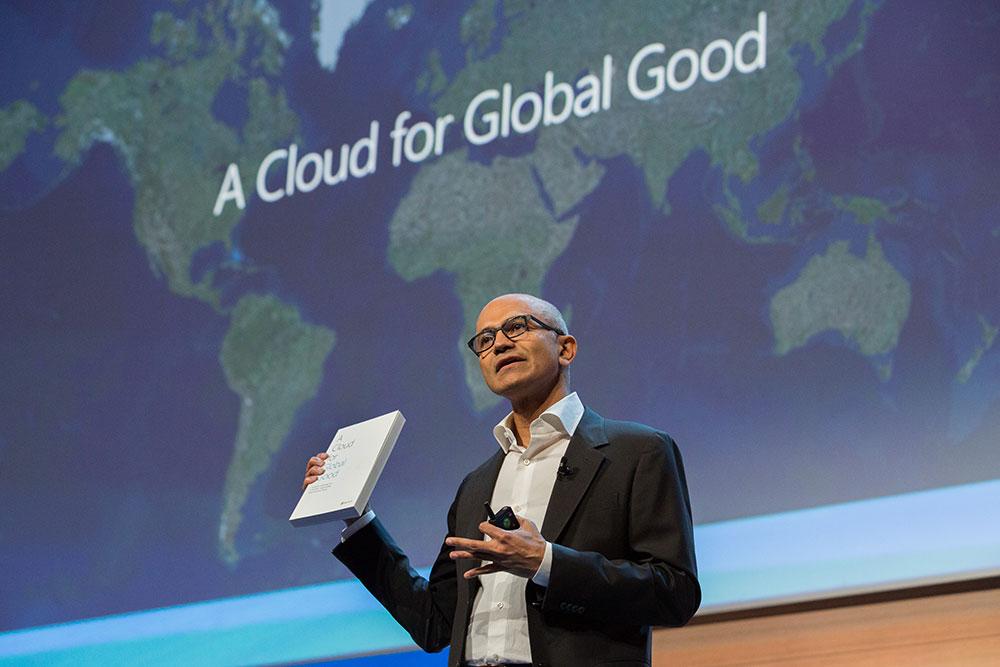 Efforts redoublés dans le 'cloud' européen — Microsoft
