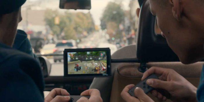 Nintendo Switch : parfait pour le multijoueurs en voiture