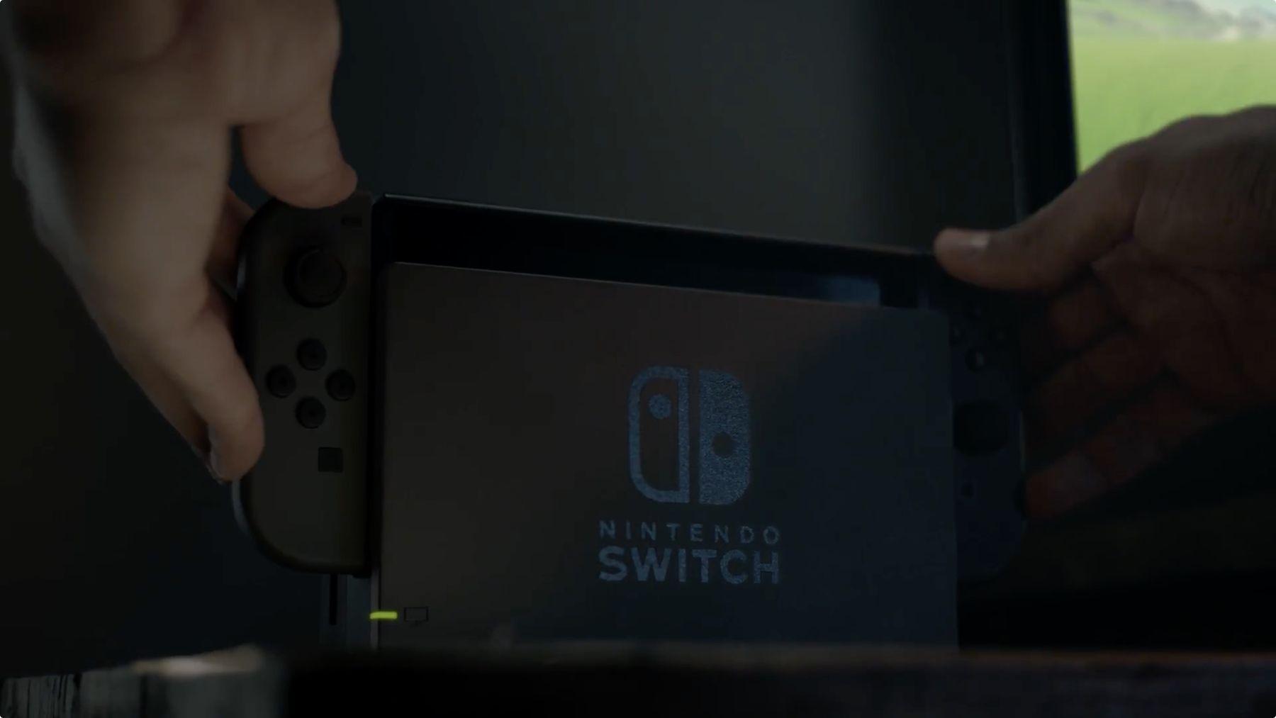 La Nintendo Switch va se glisser dans le Nintendo Switch Dock
