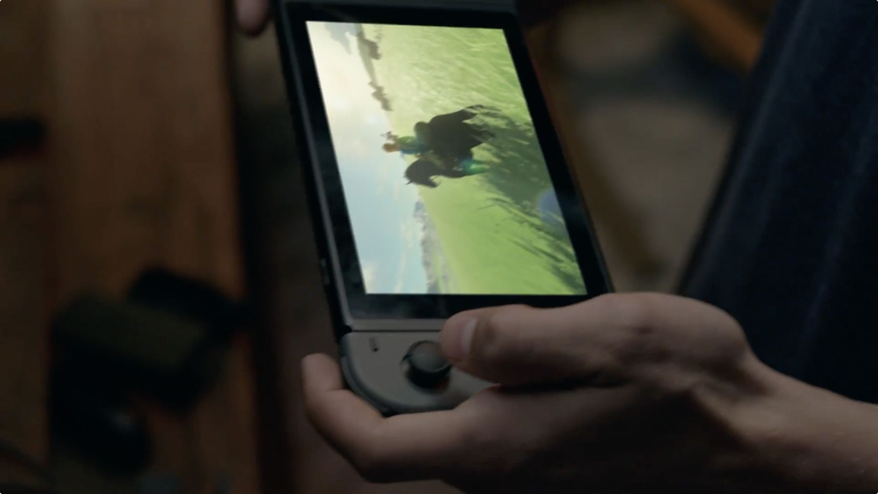 Legend of Zelda: Breath of the Wild dans la configuration Wii U GamePad