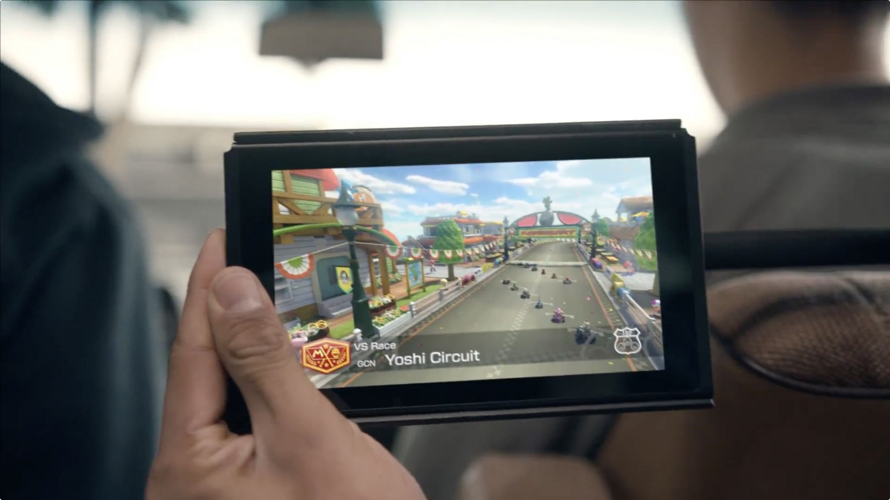 La Nintendo Switch sans contrôleurs ou dock