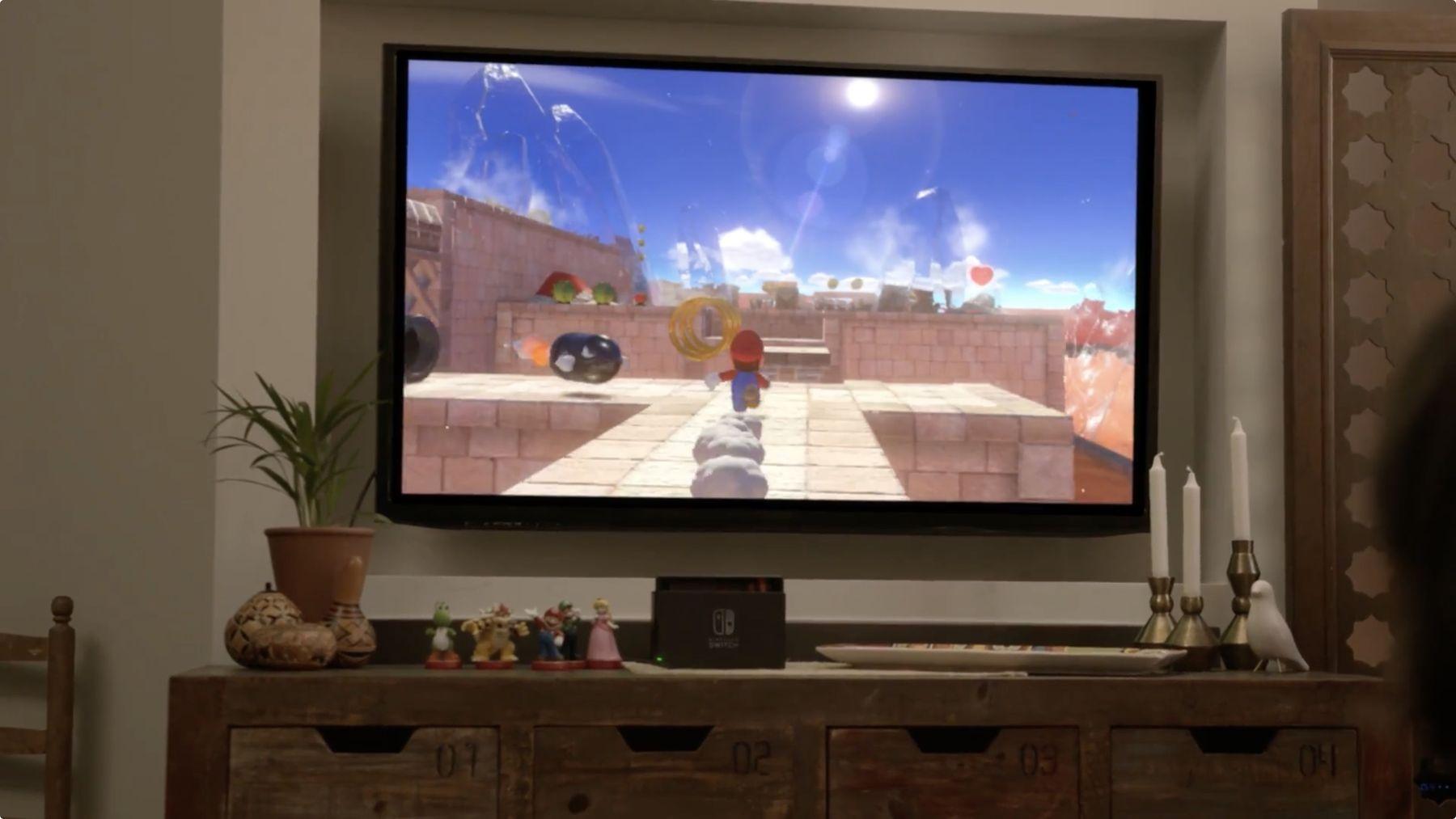 Une nouvelle version de Mario pour la Nintendo Switch