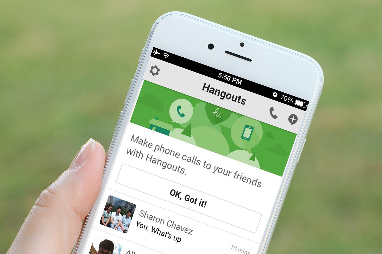 Google Hangouts remplacée par Duo ?