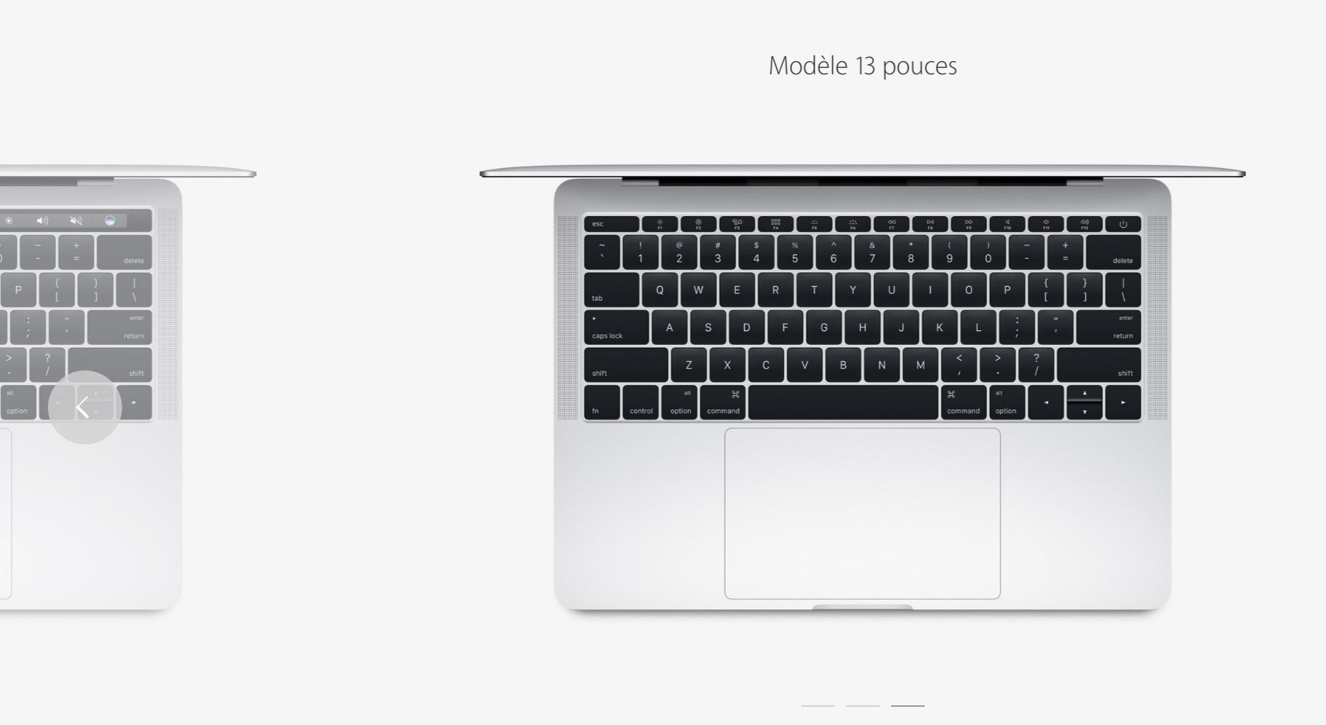 Apple vend encore un MacBook Pro sans Touch Bar