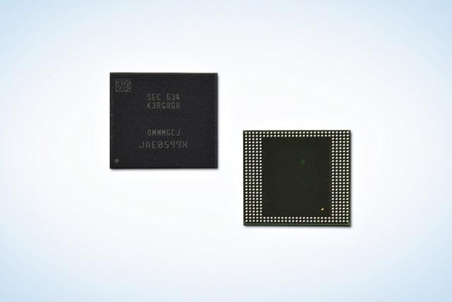 Samsung prépare les 8 Go de RAM pour les smartphones