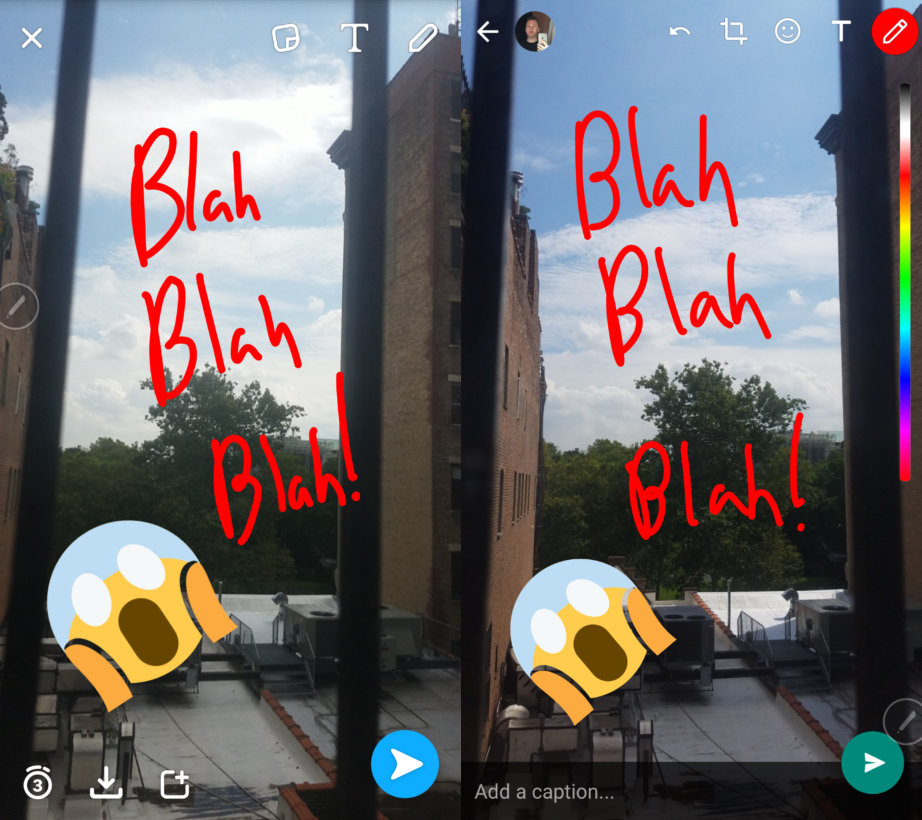 Quand Facebook clone à son tour Snapchat — Messenger Day