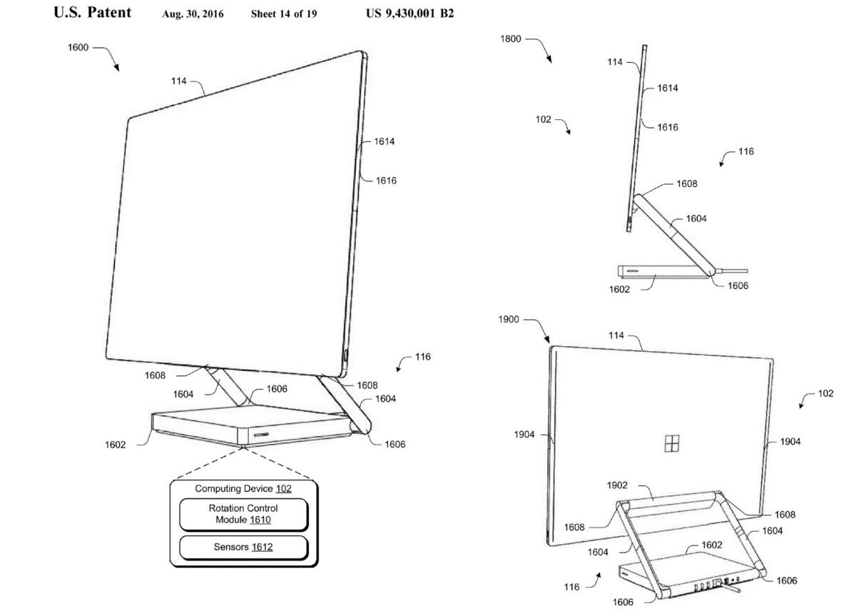 Brevet du PC Surface