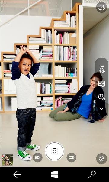 L'application Caméra de la build 14951 de Windows 10 s'améliore