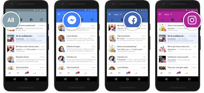 Facebook réunit toutes les conversations de ses services