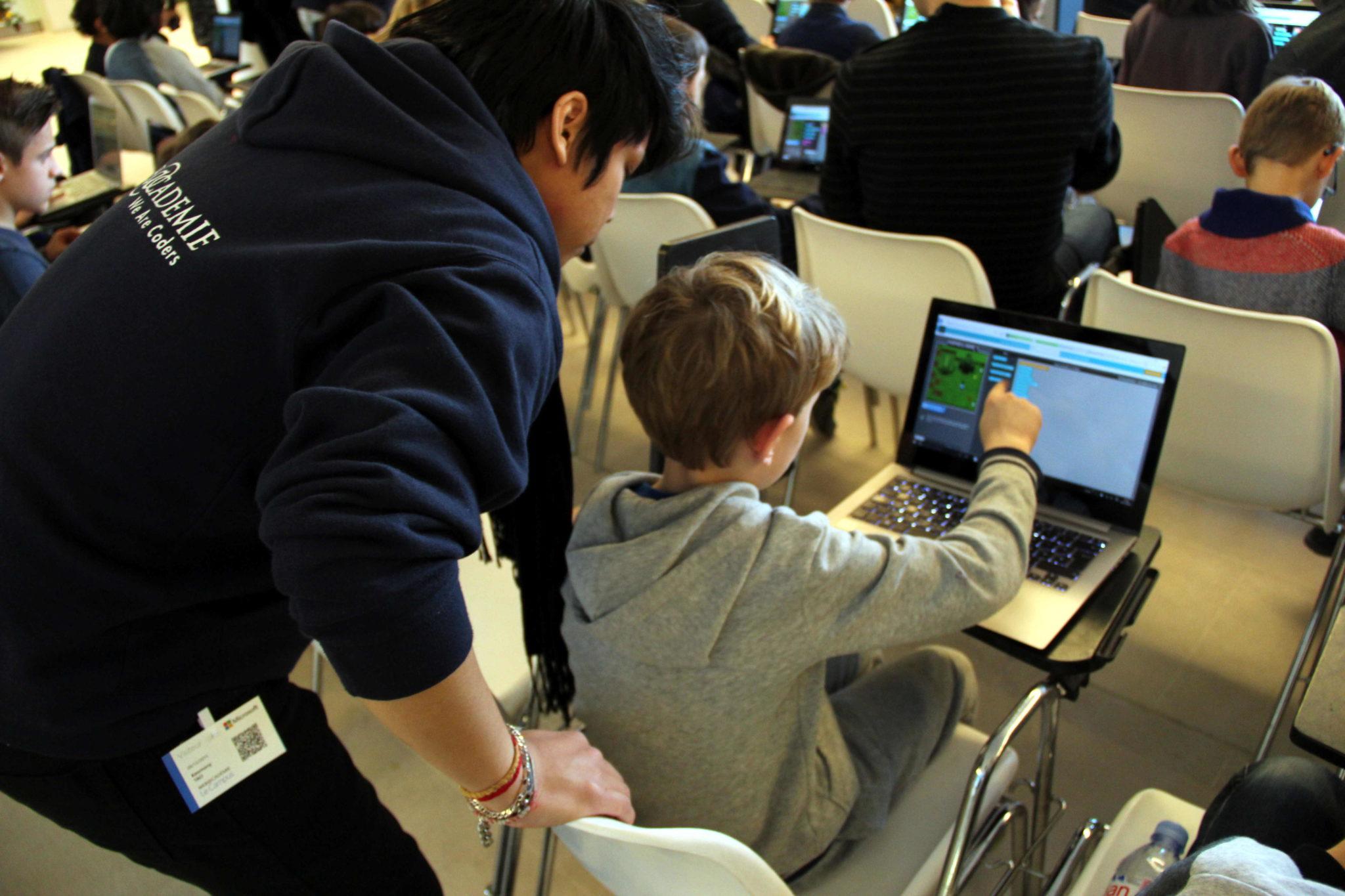 Tout le monde peut aider à faire de Hour of Code une véritable réussite