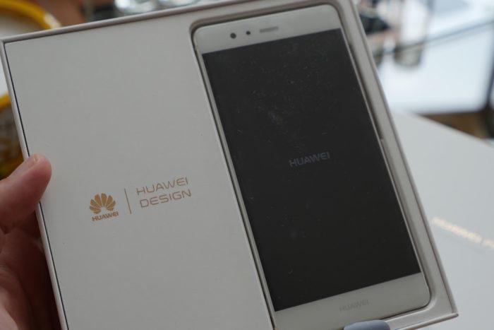 Huawei P9 : boîte