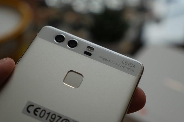 Huawei P9 : configuration à double caméra