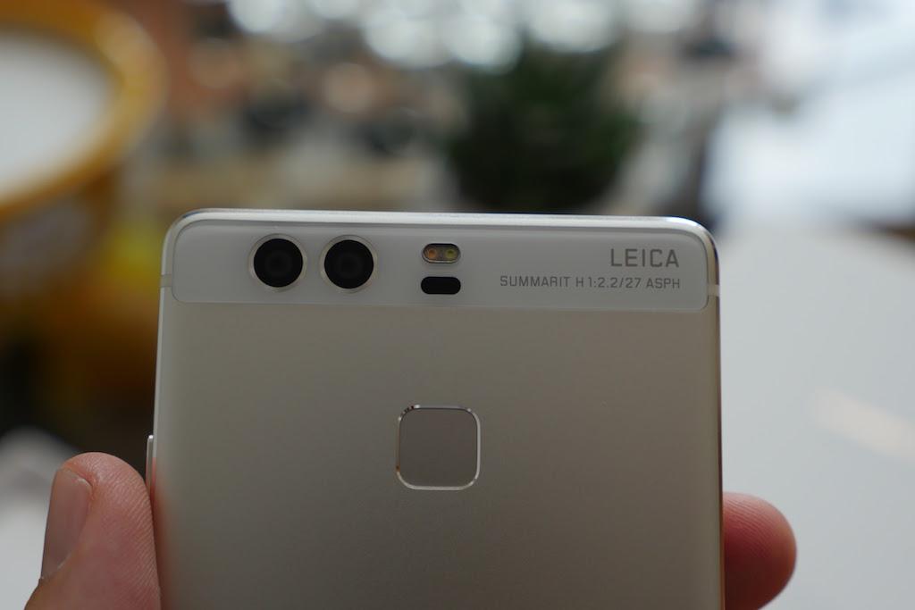 Huawei P9 : deux capteurs à l'arrière