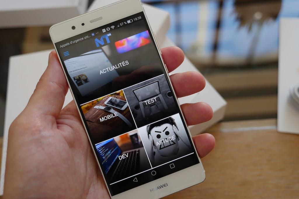 Huawei P9 : pas de problème pour la résolution full HD