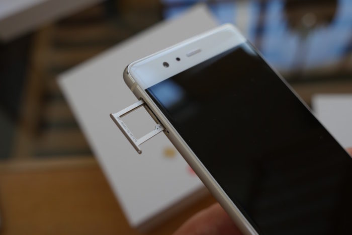 Huawei P9 : vue de gauche
