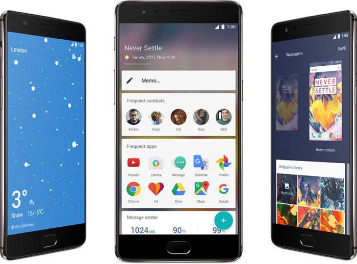 OxygenOS n'apporte rien de nouveau sur le OnePlus 3T