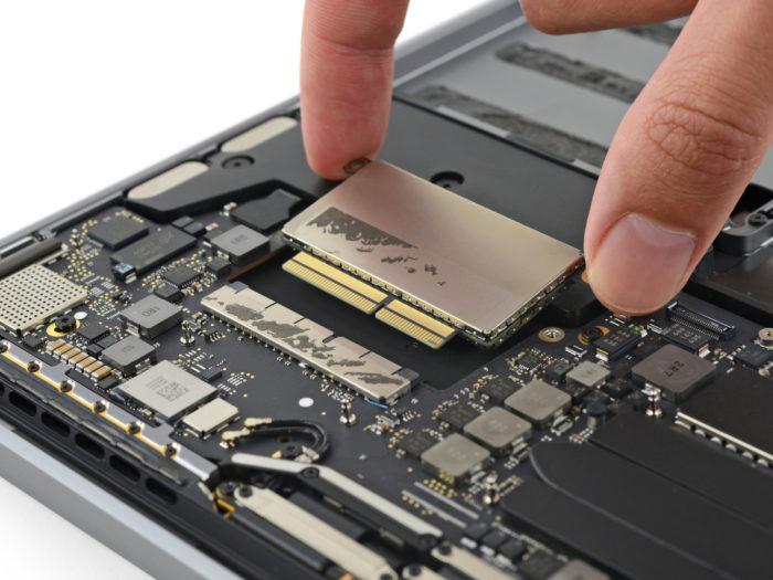 MacBook Pro : le SSD PCIe pourra être retiré au besoin