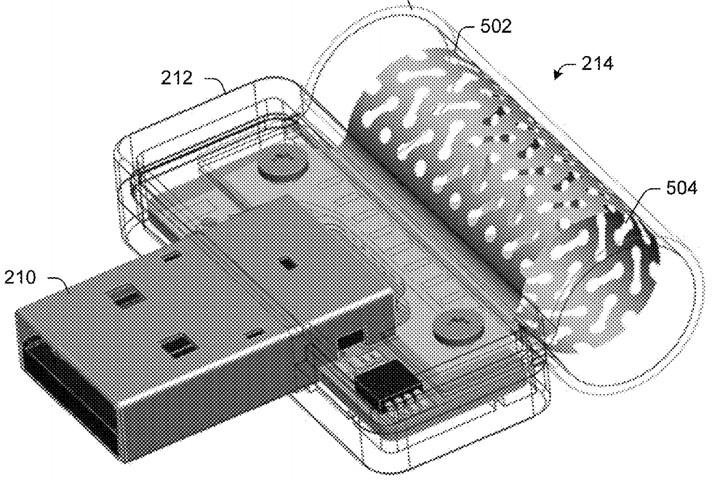 Une boucle permettrait de recharger le Surface Pen