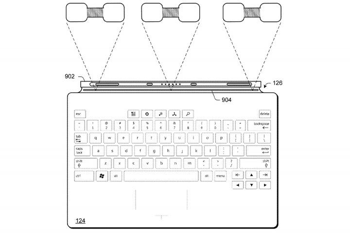 Même le Type Cover pourrait recharger le Surface Pen