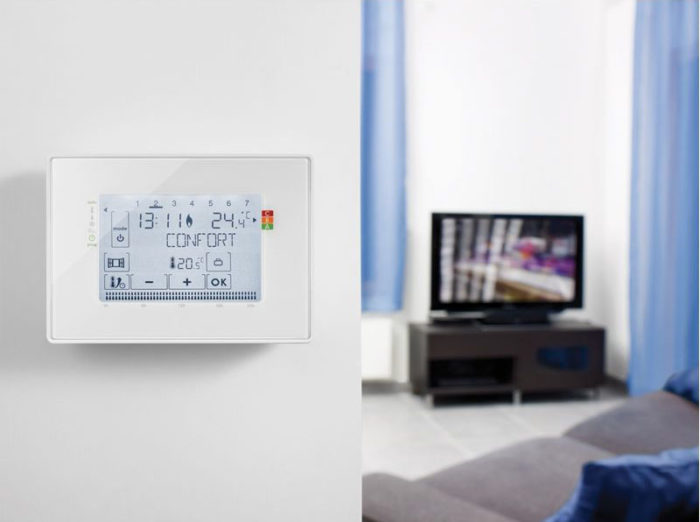 Thermostat programmable filaire