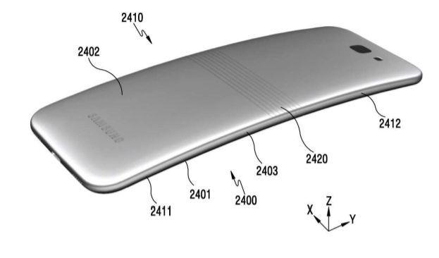 Samsung brevette téléphone pliable