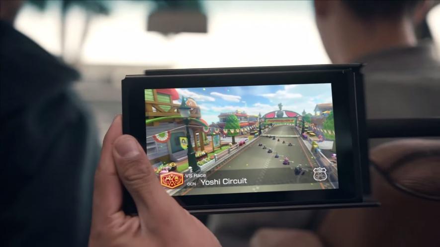 La Nintendo Switch dévoilée en public pour la première fois