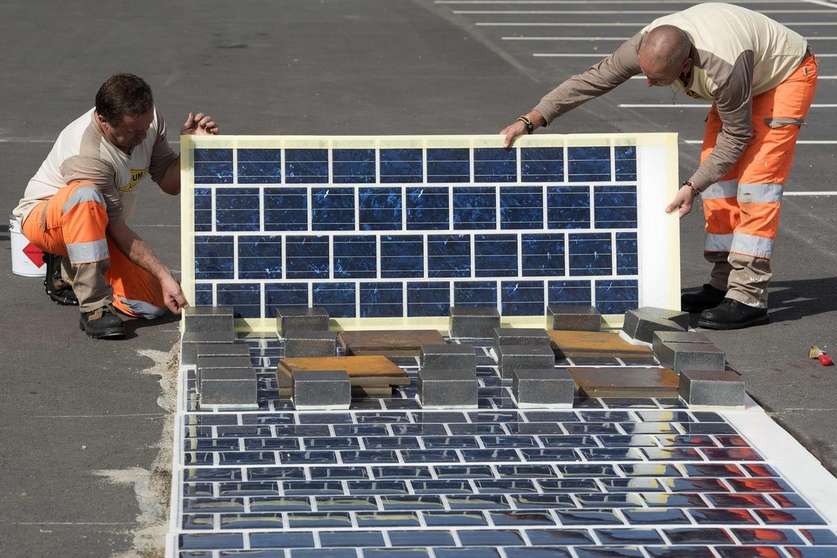 La première route solaire du monde inaugurée en France